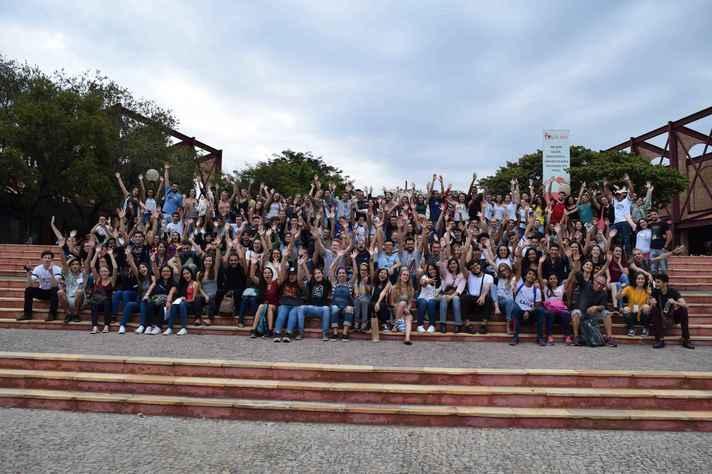 Semana de Orientação do Estudante Internacional, realizada em agosto