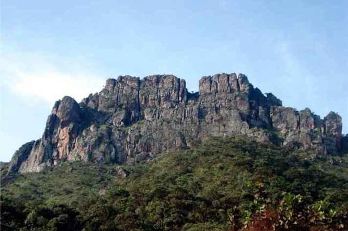 Pedra Grande, em Igarapé, na grande BH
