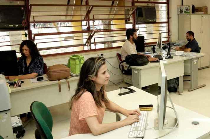 Estagiário exercerá atividades de natureza administrativa