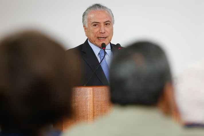 Presidente Michel Temer (MDB) se articula para aprovação de projetos até o fim do mandato