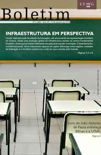 Capa da edição 2.066 do Boletim UFMG