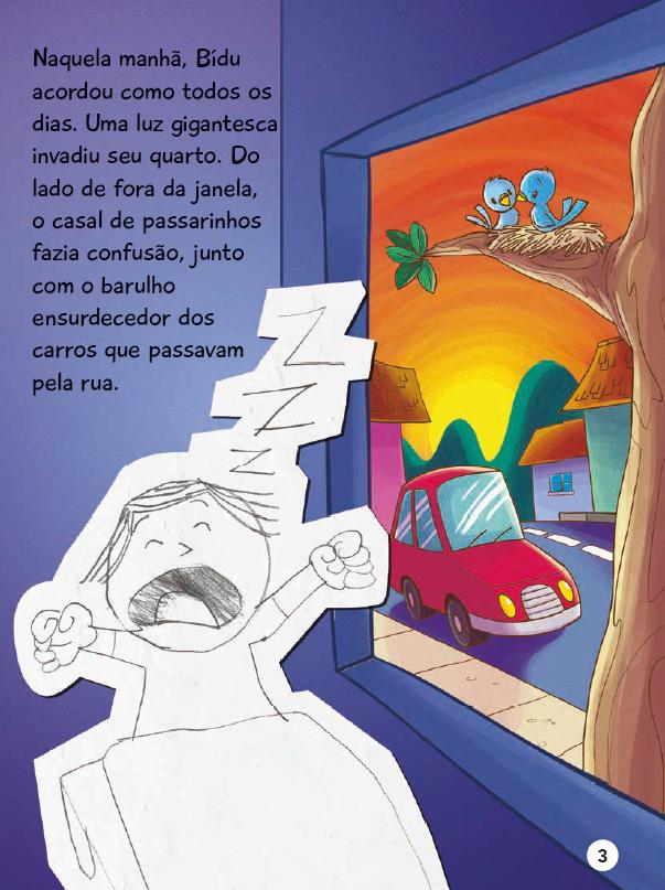 Início de 'Iguais ou diferentes?', livro que tematiza o Transtorno do Espectro Autista