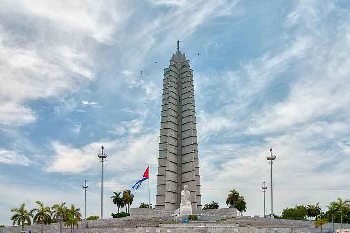 Memorial José Marti, em Havana, Cuba