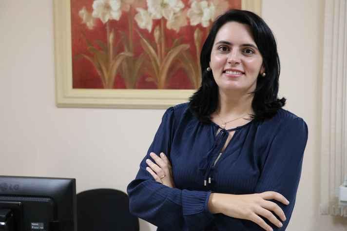 A pesquisadora Pauline Pimenta