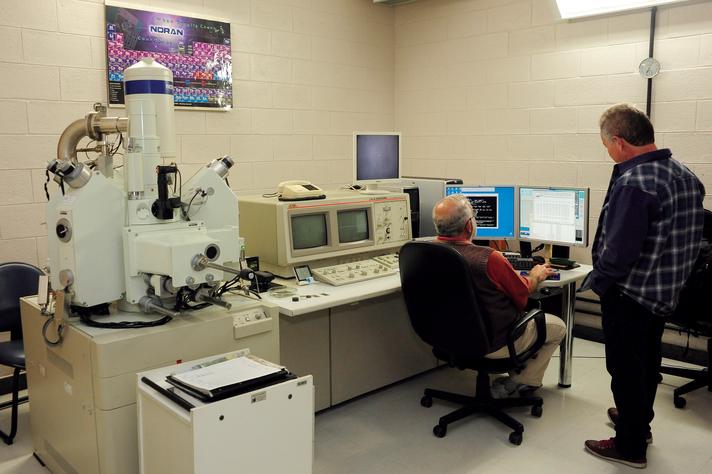 Ambiente do Centro de Microscopia da UFMG, que patrocina o workshop