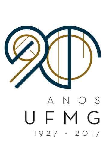 Selo de comemoração 90 anos UFMG