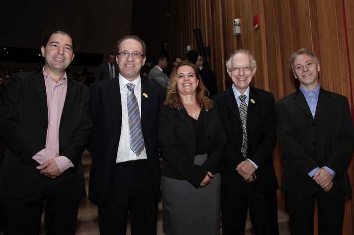 Luciano Mendes, Jáder dos Reis, Sandra Goulart Almeida, Nivio Ziviani e Yurij Castelfranchi