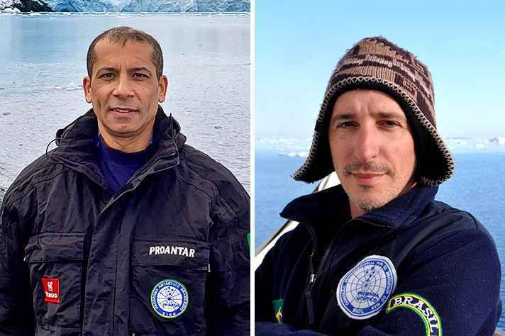 Luiz Rosa, a esquerda, e Andrés Zarankin, a direita, são os convidados do UFMG Talks