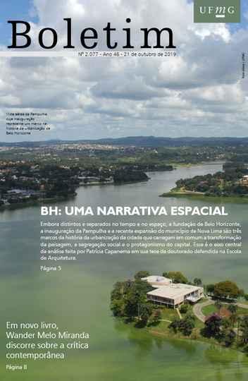 Capa da edição 2.077 do Boletim (com foto de Foca Lisboa / UFMG)