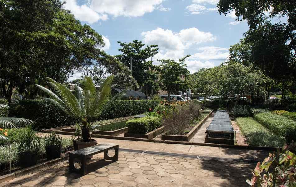 Horto da UFMG, no campus Pampulha