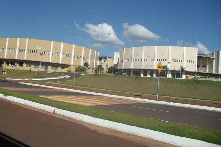 Pavilhão de aulas da Ufla: instituição será sede do Congresso