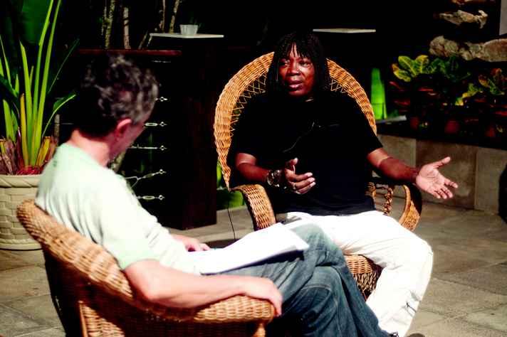 Chico Amaral conversa com Milton Nascimento: fusão original de estilos