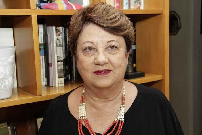 Eneida Maria de Souza, professora emérita da Faculdade de Letras