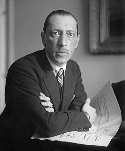Igor Stravinsky na década de 1920