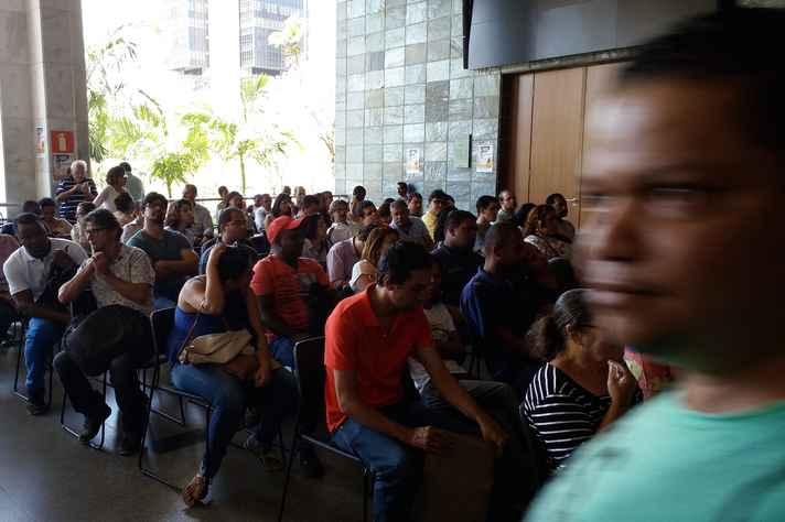 Candidatos às vagas lotaram a Assembleia Legislativa de Minas
