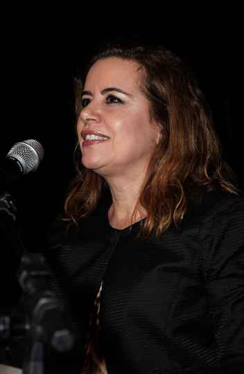 Vice-reitora, Sandra Goulart Almeida