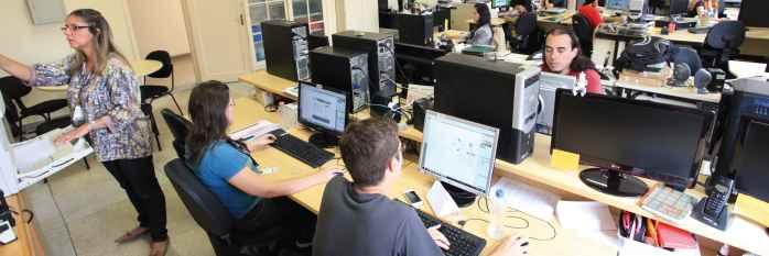 Centro de Comunicação Social é um dos setores com vagas abertas