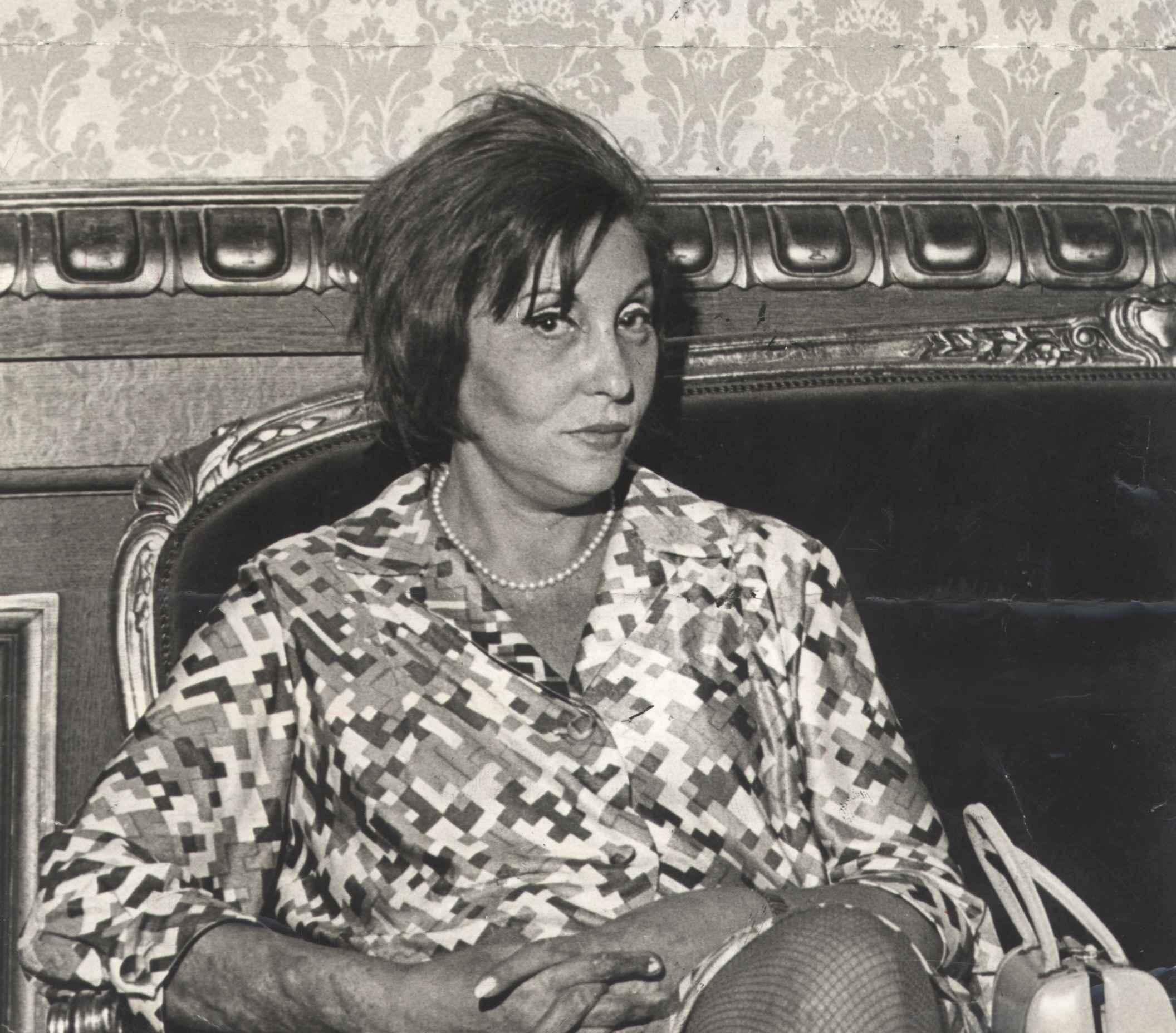 Clarice Lispector, em 1972