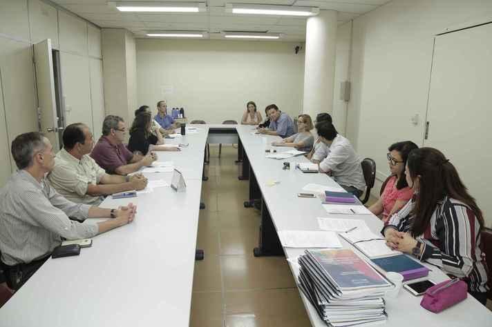Reunião de abertura dos trabalhos da CPA em 2019: