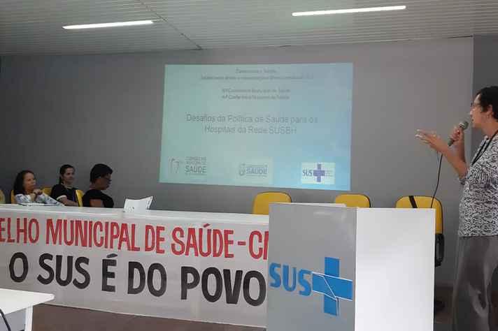 Reunião do Conselho Municipal de Saúde de Belo Horizonte