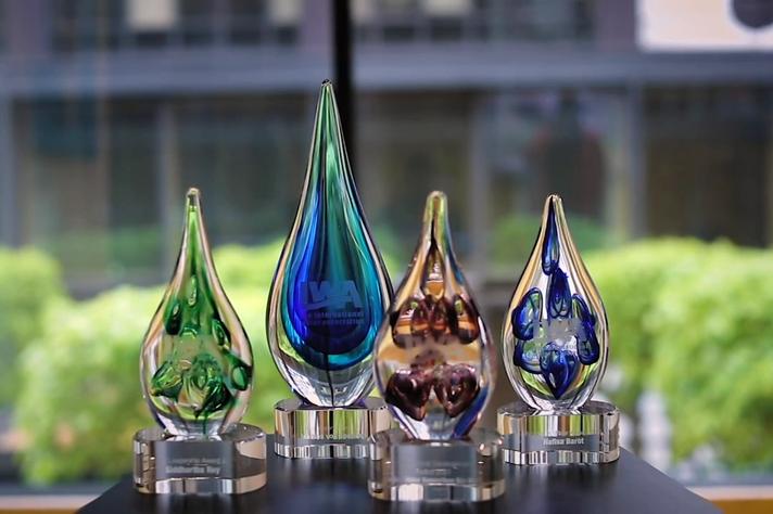 Prêmios bienais da IWA: o professor da UFMG recebeu este ano a distinção máxima