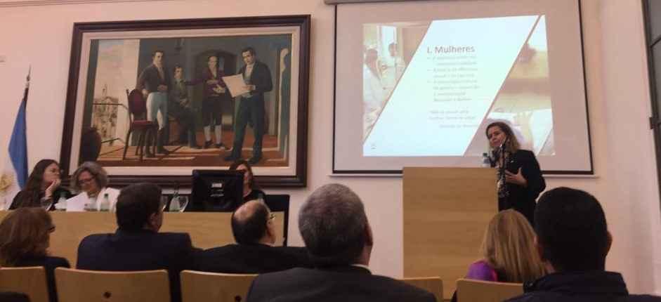 Sandra Goulart falou sobre igualdade de gênero em painel de lançamento cátedra