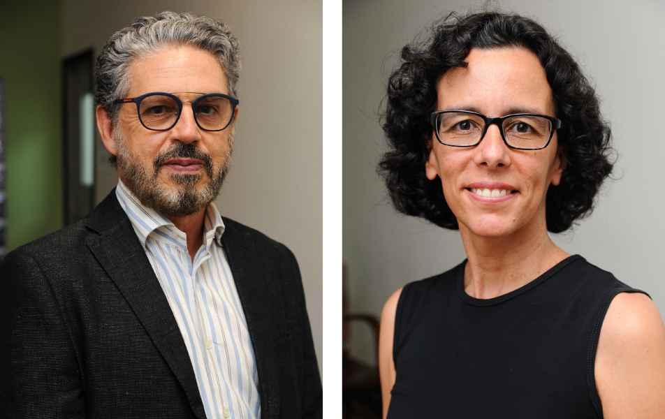 """<p>Pró-reitoria de Pós-graduação<br><a href=""""http://somos.ufmg.br/professor/fabio-alves-da-silva-junior"""" target=""""_blank"""">Fábio Alves</a>, professor da Faculdade de Letras<br><a href=""""http://somos.ufmg.br/professor/silvia-helena-paixao-alencar"""" target=""""_blank"""">Sílvia Alencar</a>, professora do Instituto de Ciências Exatas</p>"""