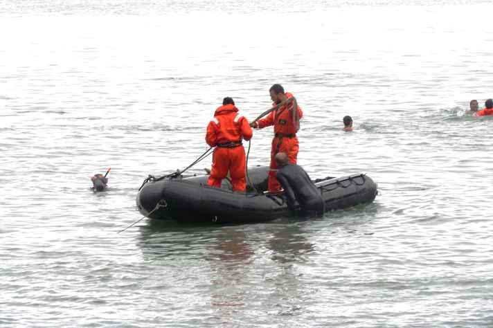 Atividade do treinamento no mar da ilha de Marambaia: do humor aversivo à percepção de autossuficiência