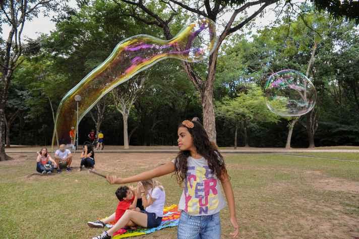 Isadora já participou de outras atividades no campus
