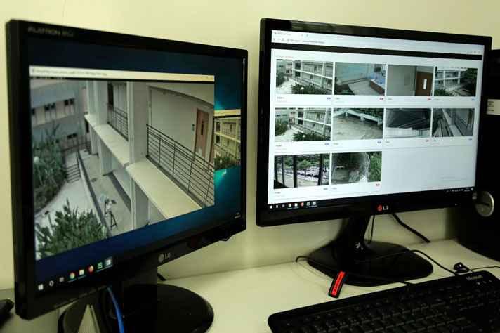 Método criou ponto de referência para a sincronização das câmeras