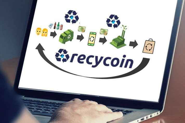 App Recycoin busca conectar consumidores, catadores de material reciclável e empresas de reciclagem.