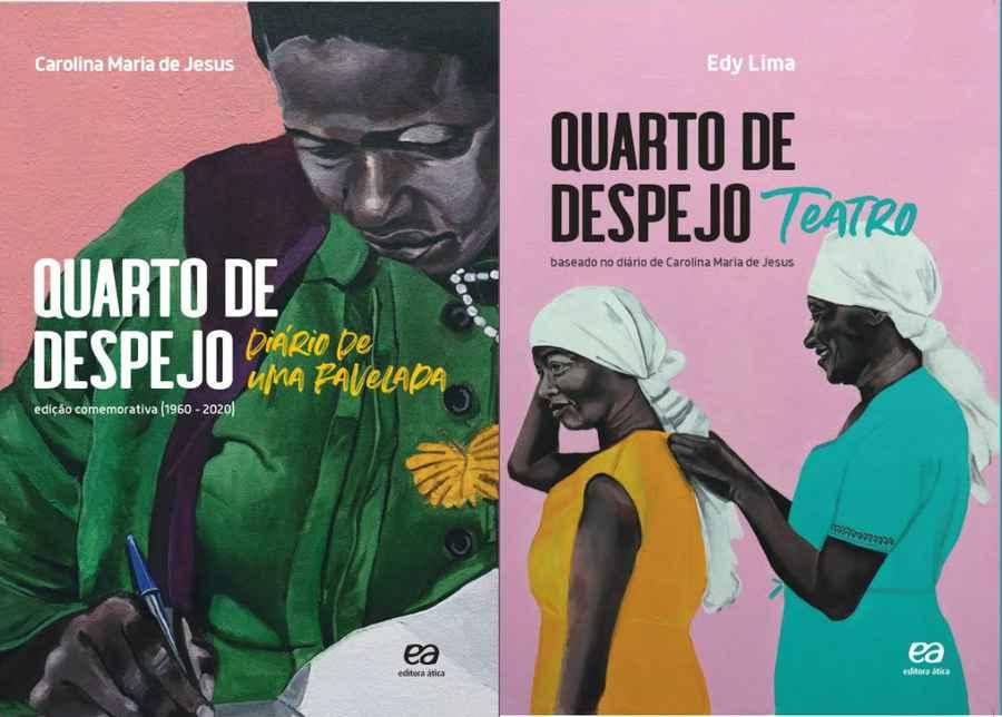 Ambos os livros contam com capa desenvolvida pelo artista plástico No Martins.