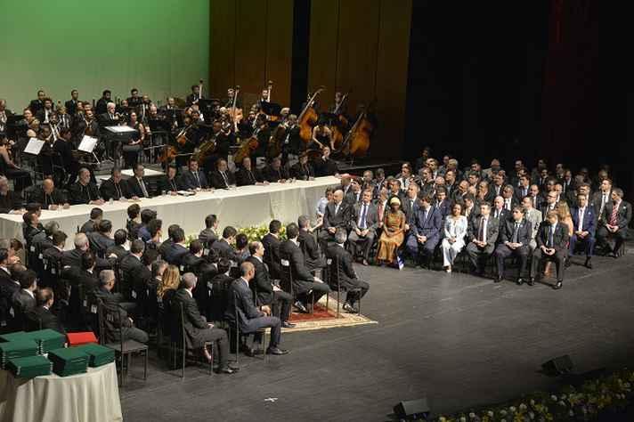 Registro da cerimônia de diplomação