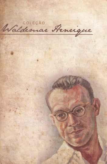 Waldemar Henrique na capa de DVD que reúne composições escritas para canto e piano