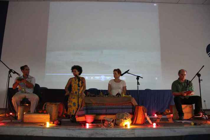 Grupo Movência propaga costumes orais dos povos africanos e indígenas