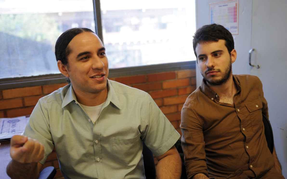 Eufrânio Júnior e Eduardo Henrique Cruz: patente depositada nos Estados Unidos