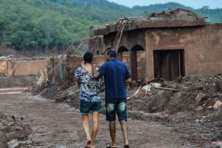 Bento Rodrigues, subdistrito de Mariana, foi a localidade mais atingida após rompimento de barragens da mineradora Samarco