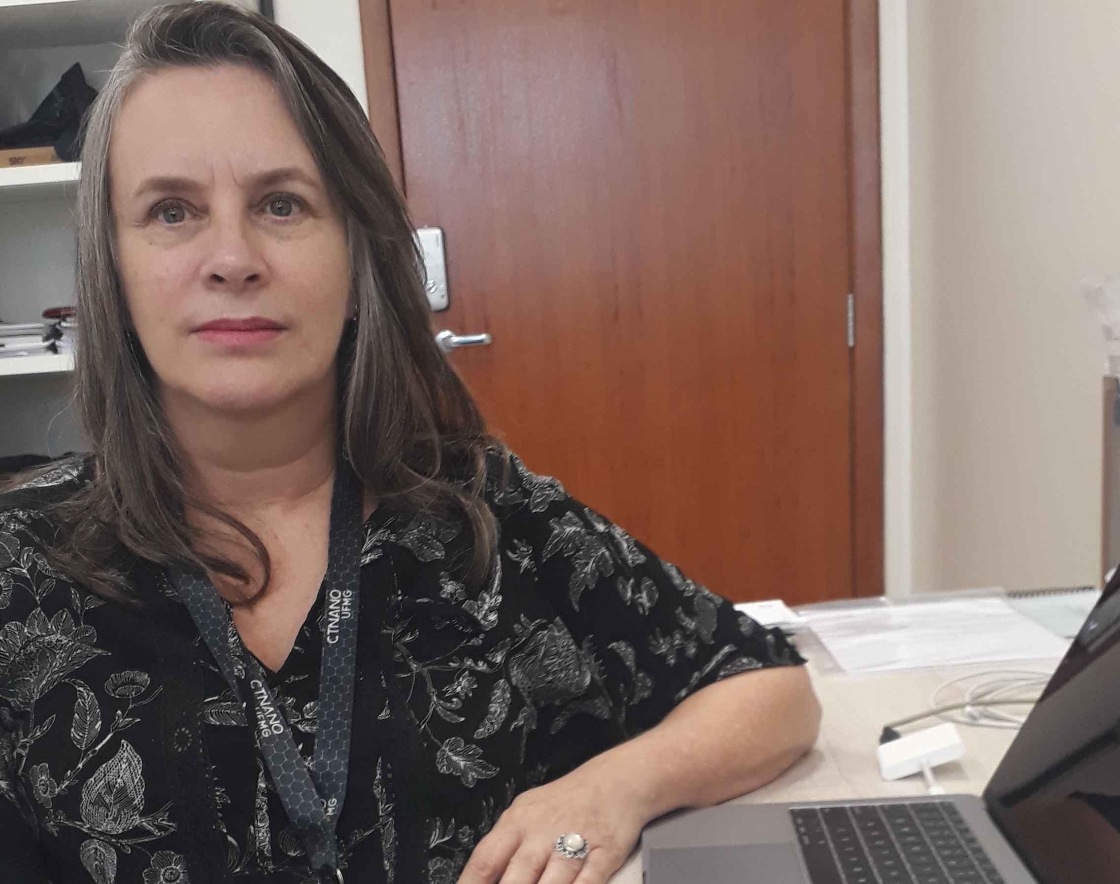 Professora Glaura Goulart é uma das entrevistadas do e-book 'Mulher faz Ciência'