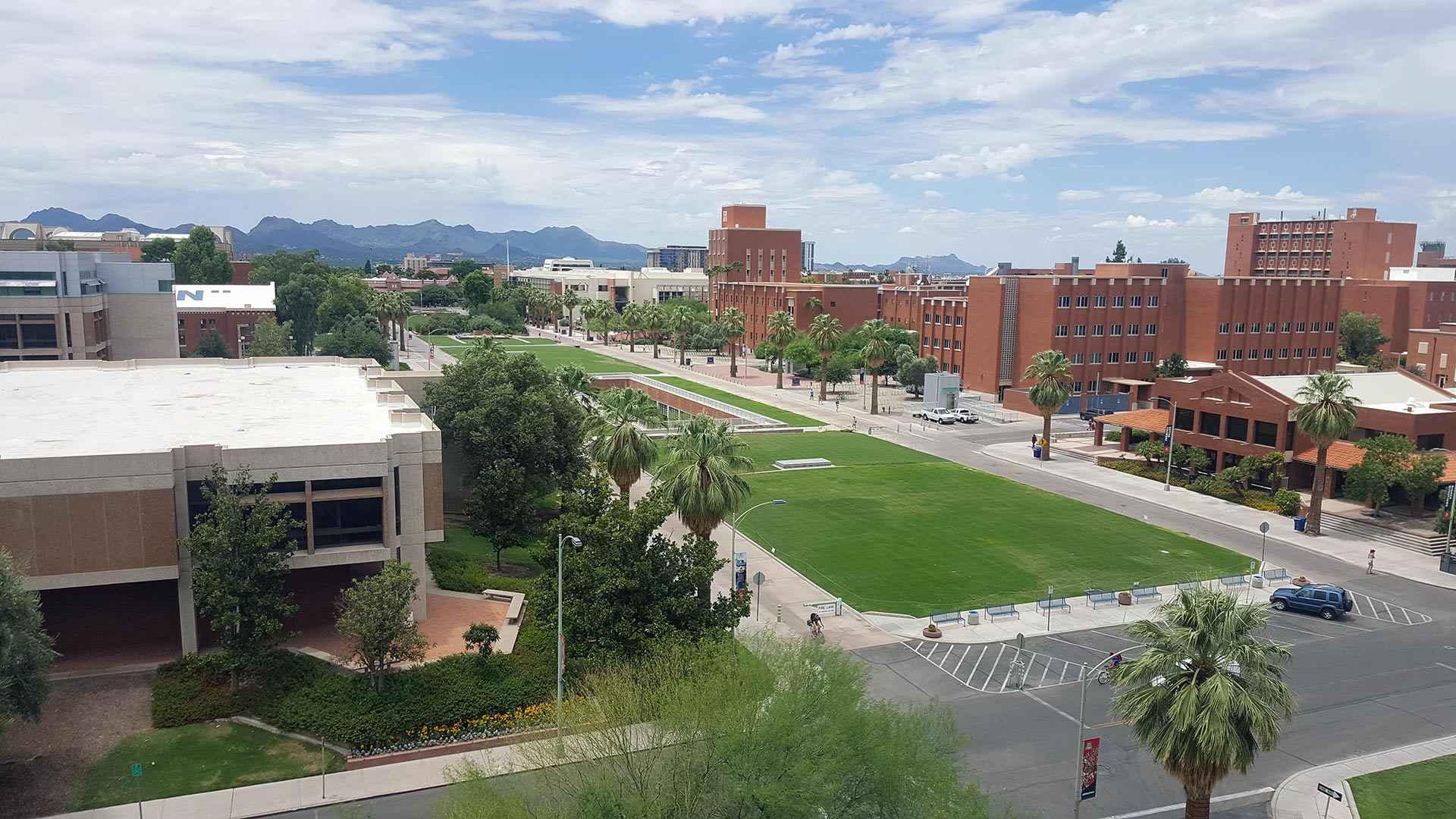 Campus da Universidade de Arizona, uma das ofertadas pelo programa Minas Mundi