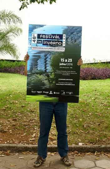 Cartaz do 47º Festival de Inverno da UFMG