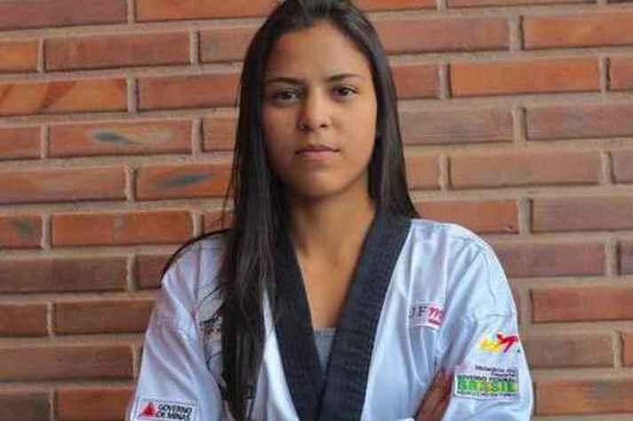 Bruna Rocha, 21 anos, estreia na seleção brasileira de Taekwendo, no Pan-Americano