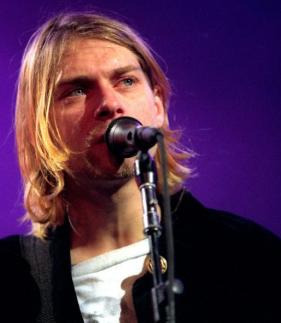Kurt Cobain em 1992