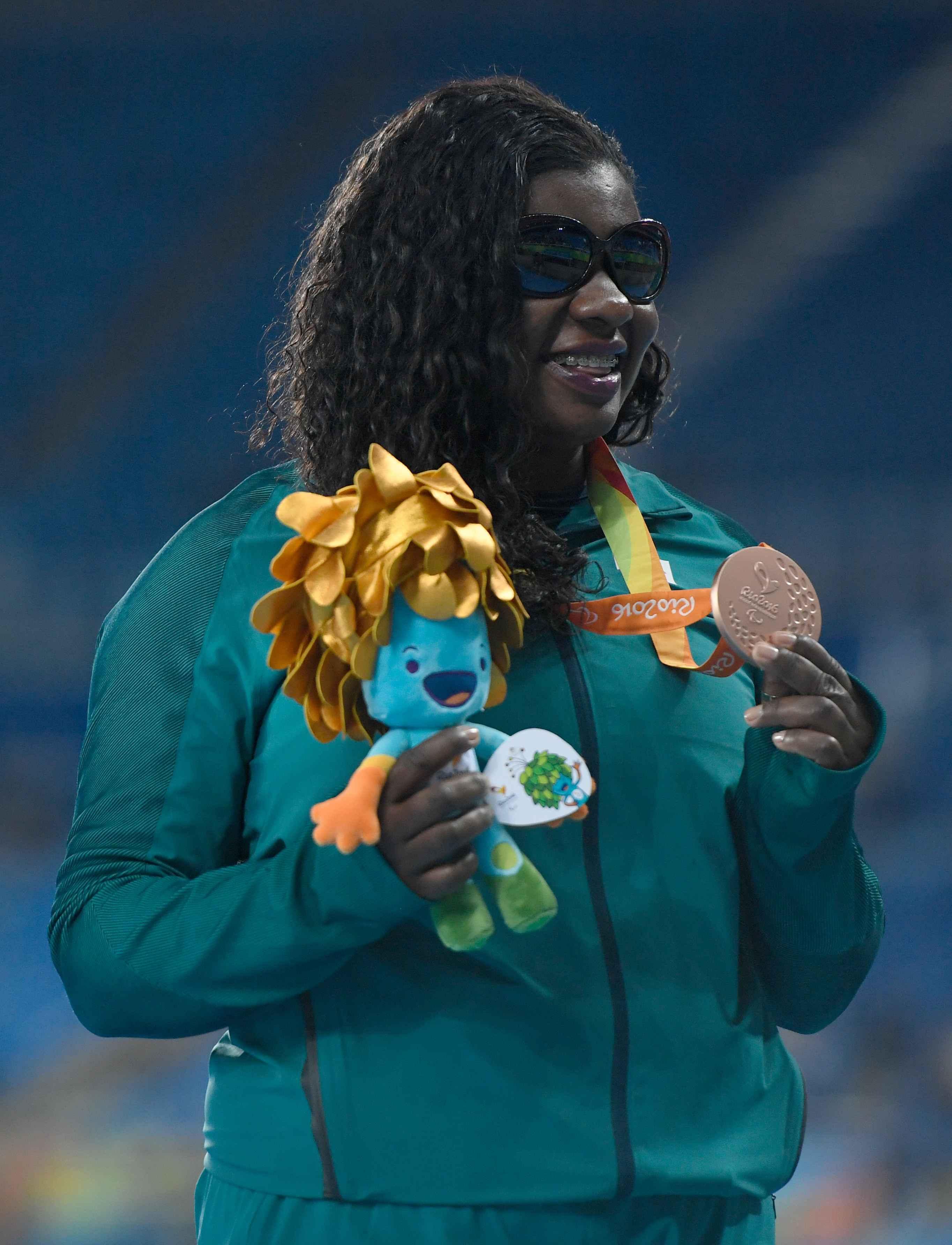 Paratleta Izabela Campos: bronze nos Jogos do Rio, em 2016