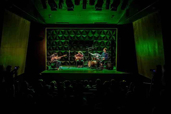 O trio Trivial é uma das atrações do Festival Sabiá