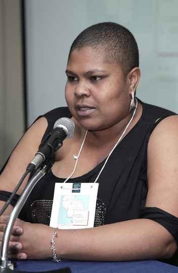 Ativista Maria Rita Casagrande, do movimento Mulheres Negras