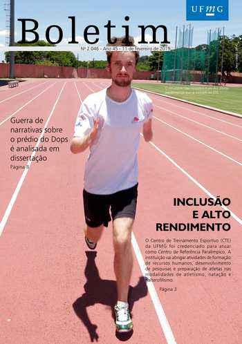 Capa da edição 2.046 do Boletim UFMG