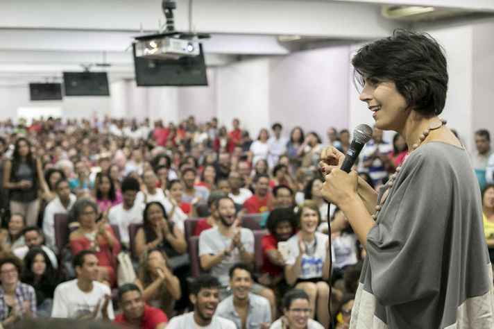 Manuela é deputada estadual no Rio Grande do Sul