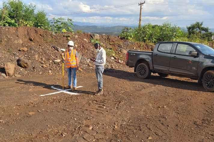 Equipe de pesquisa do Subprojeto 58 do Projeto Brumadinho UFMG. A atividade busca realizar o mapeamento e caracterização dos estabelecimentos agropecuários pertencentes à Sub-bacia do Ribeirão Ferro-Carvão,