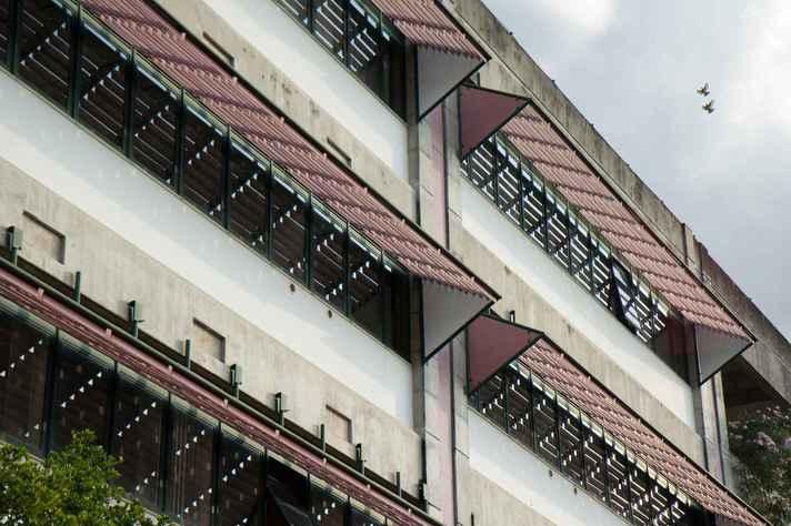 Fafich: edifício-sede do Programa de Pós-graduação em Psicologia