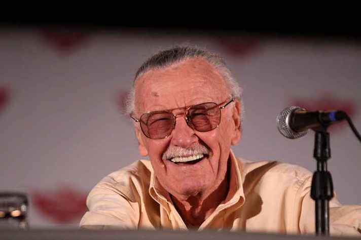 Stan Lee na Comicon 2011 em Phoenix, Arizona